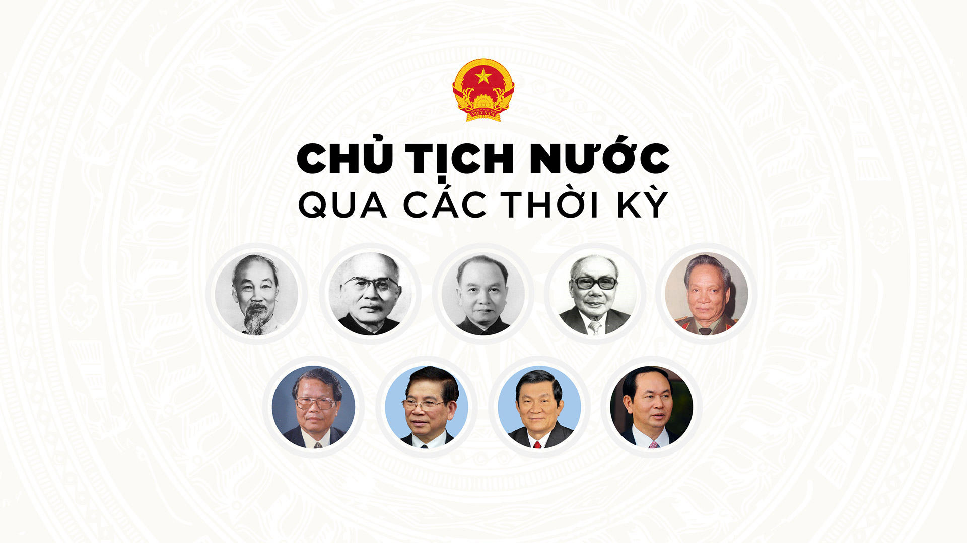 Infographic Chu tich nuoc qua cac thoi ky hinh anh 1